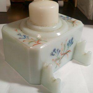 Vintage Jadeite Candle Holder..